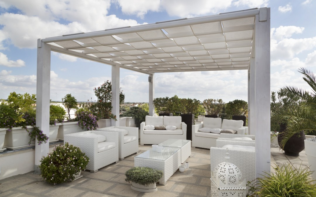 Trends In Rooftop Patio Furniture A Whole New World Is