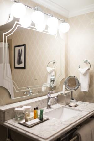 Drake Hotel Bath by Grabinski Group