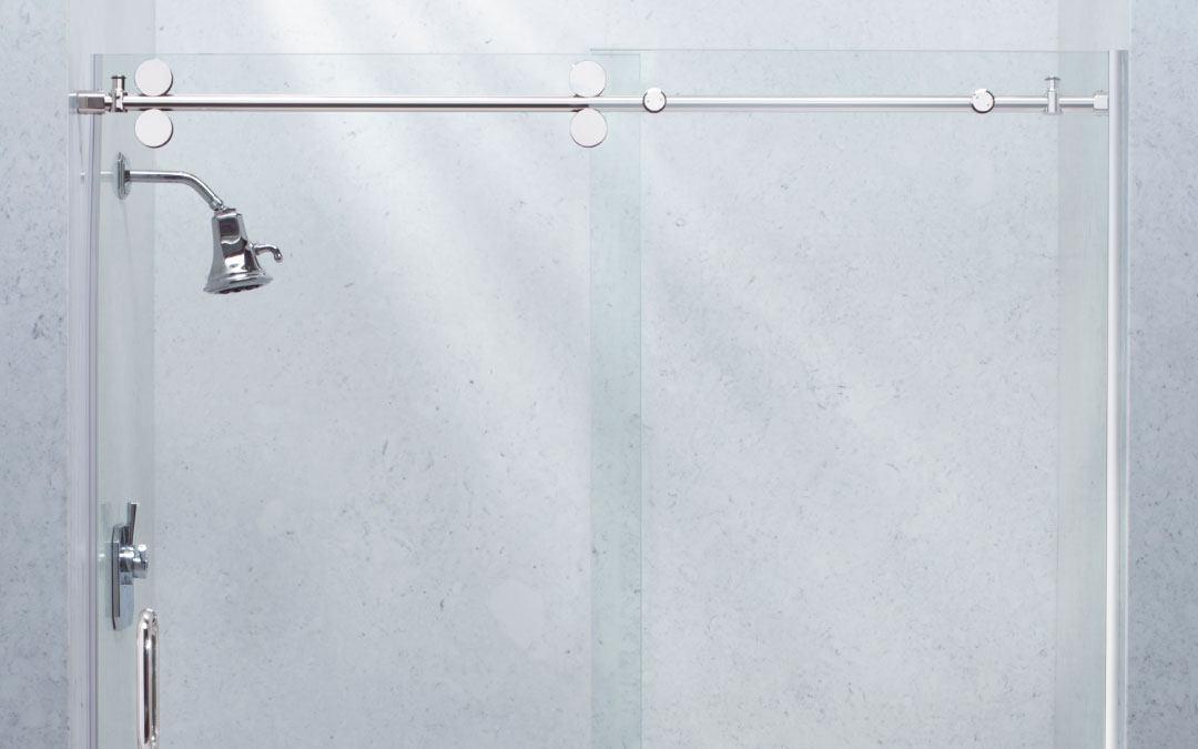 URBANITE II By-Pass Shower Doors by Belstone