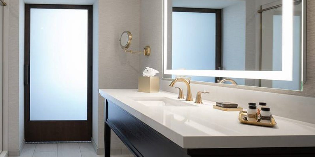 The Axis Hotel Moline Bathroom Vanity