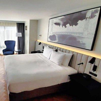Radisson Blu, Fargo, ND guest room